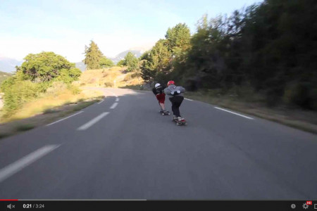 Skateboard the Alps Part 2