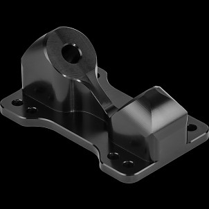 Aera Trucks K3 Base Plates 38 degrees Black