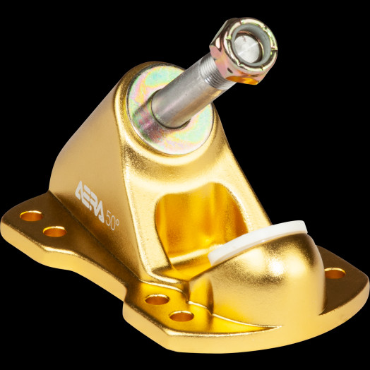 Aera Skateboard Truck Baseplate RF-1 50 degree Gold
